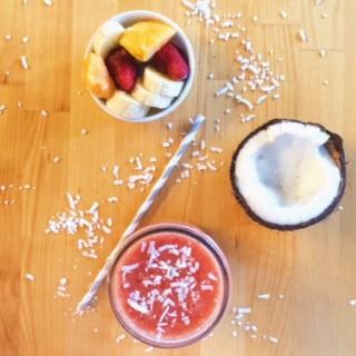 Tropical Smoothie l cookinginmygenes.com
