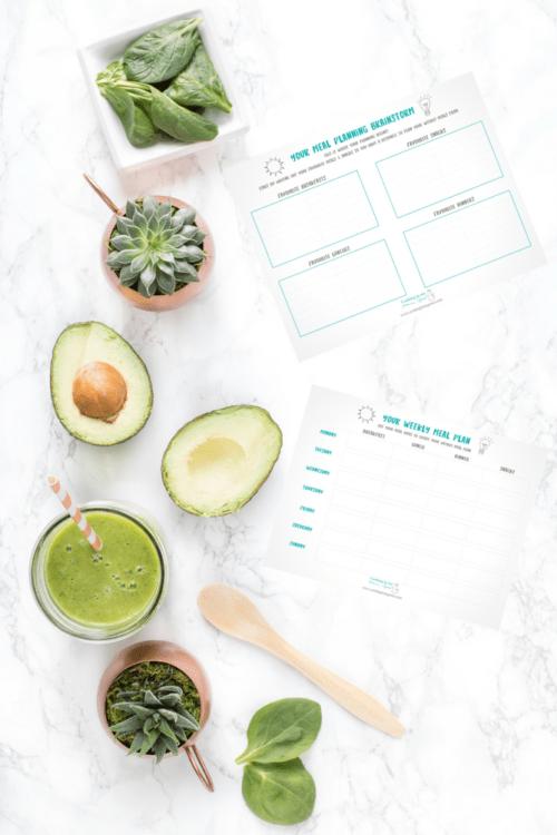 Meal Planner Printable by cookinginmygenes.com