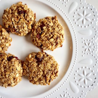 Banana Coconut Breakfast Cookies