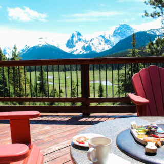 Afternoon Tea at Mount Engadine Lodge