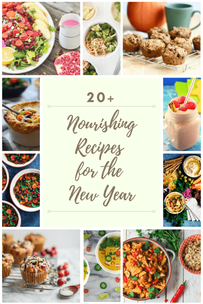 20 Nourishing Recipes for the New Year | cookinginmygenes.com