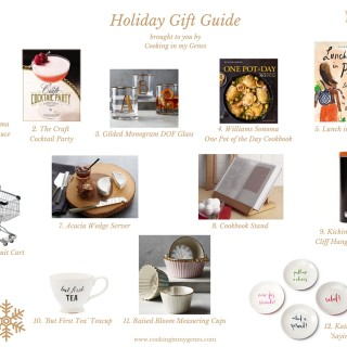 Holiday Gift Guide l Food & Kitchen Favourites l www.cookinginmygenes.com