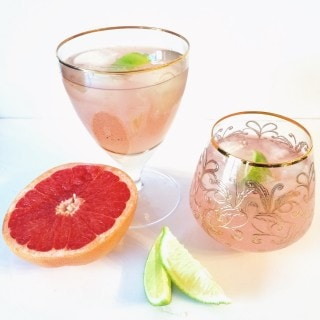 Grapefruit Gin Splash l cookinginmygenes.com