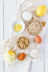 Lemon Squares | cookinginmygenes.com