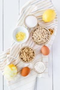 Lemon Squares   cookinginmygenes.com