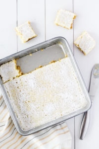 Lemon Squares | cookinginmygenes.com