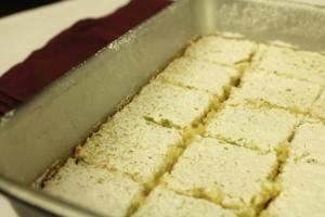 Lemon Squares l cookinginmygenes.com