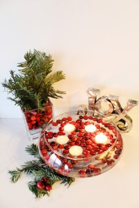 DIY Holiday Centrepiece I www.cookinginmygenes.com
