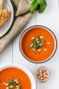 Roasted Tomato Soup | cookinginmygenes.com