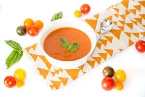 Tomato Soup l cookinginmygenes.com