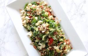 Summer Vegetable & Grains Salad l cookinginmygenes.com