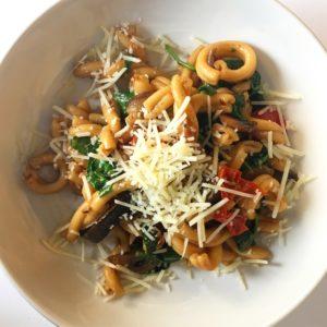 Chefs Plate Porcini Mushroom Pasta l cookinginmygenes.com