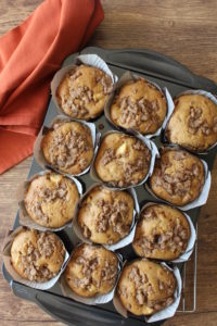 Momma's Apple Muffins l cookinginmygenes.com