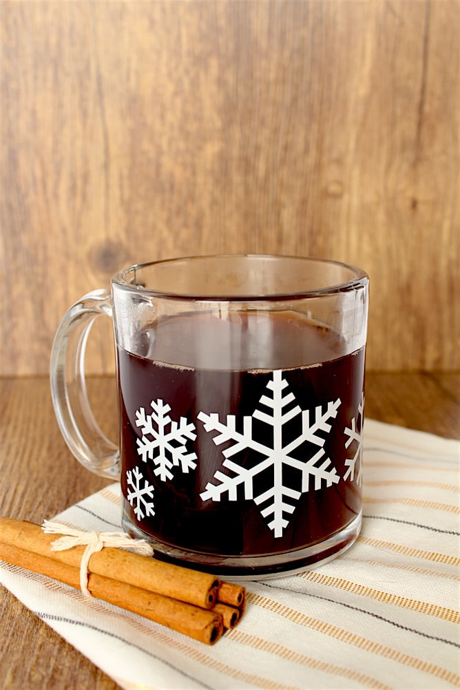 Black-Cherry Apple Cider l cookinginmygenes.com