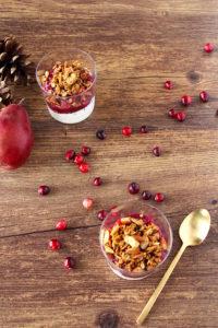 Cranberry-Pear Chia Seed Jam   cookinginmygenes.com