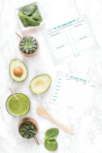 Meal Planner Printable by cookinginmygenes.com