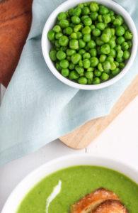 Easy Pea Soup | cookinginmygenes.com
