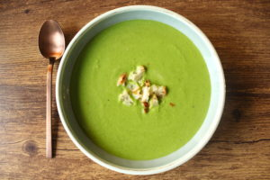 Pea Soup | cookinginmygenes.com