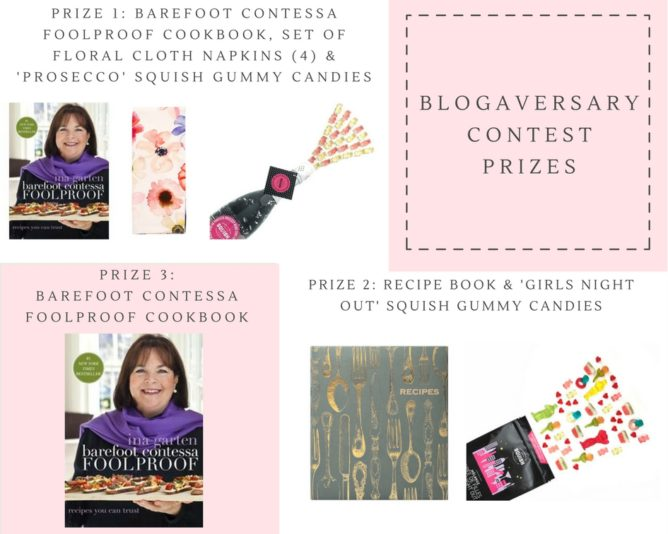 Blogaversary Contest from cookinginmygenes.com