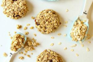 Banana Coconut Breakfast Cookies | cookinginmygenes.com