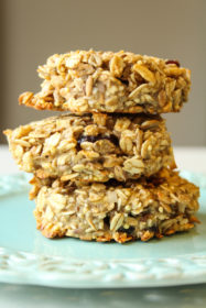 Banana Coconut Breakfast Cookies | cookinginmygenes.com