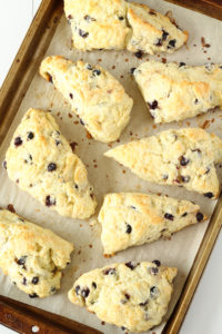 My Perfect Weekend Morning with coffee and Saskatoon Berry Scones   cookinginmygenes.com