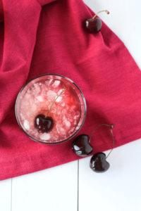 Cherry Bourbon Lemonade Smash   cookinginmygenes.com