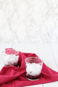 Cherry Bourbon Lemonade Smash | cookinginmygenes.com