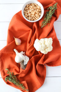 Roasted Cauliflower Soup | cookinginmygenes.com