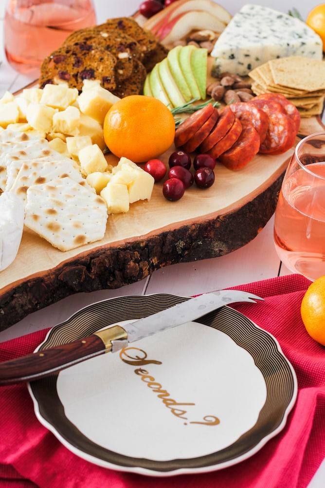 Festive Market Cheeseboard | cookinginmygenes.com