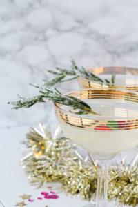Sparkling New Year's Eve Party Menu | cookinginmygenes.com