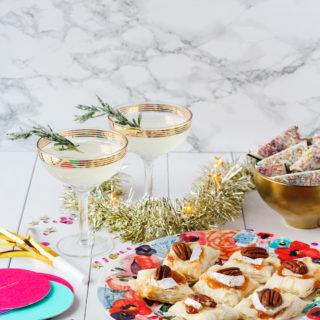 Sparkling New Year's Eve Party Menu   cookinginmygenes.com