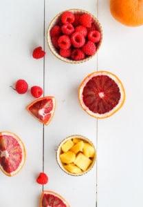 Tropical Blood Orange Smoothie | cookinginmygenes.com