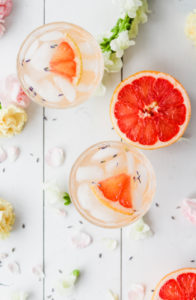 Grapefruit Lavender Spring Blossom Cocktail   cookinginmygenes.com