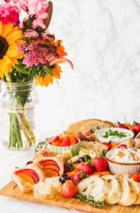 Summer Brunch Board | cookinginmygenes.com