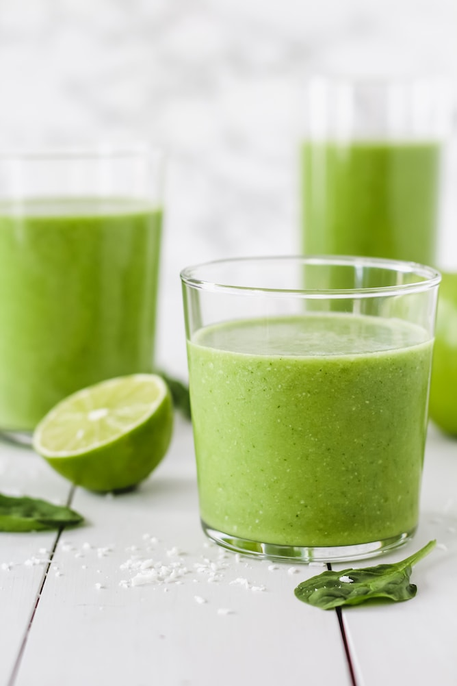 Mojito Smoothie | cookinginmygenes.com