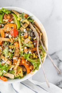 Chickpea Taco Bowls   cookinginmygenes.com