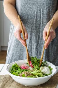 Market Spring Vegetable Salad   cookinginmygenes.com