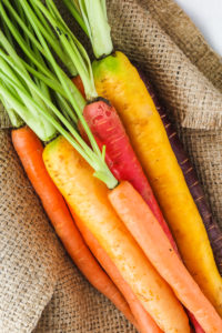 Honey Butter Roasted Carrots & Radishes | cookinginmygenes.com
