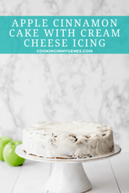 Apple Cinnamon Cake with Cream Cheese Frosting