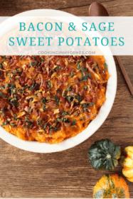 Bacon & Sage Sweet Potatoes