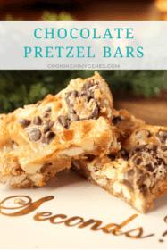 Chocolate Pretzel Bars