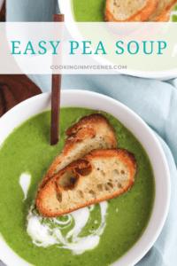 Easy Pea Soup
