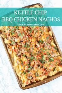 Kettle Chip BBQ Chicken Nachos