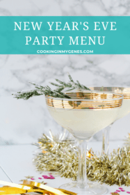New Year's Eve Party Menu