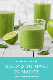 Recipes to Make in March