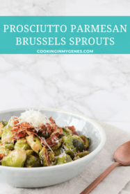Prosciutto Parmesan Brussels Sprouts