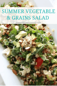 Summer Vegetable & Grains Salad