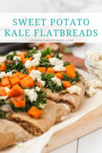 Sweet Potato Kale Flatbreads