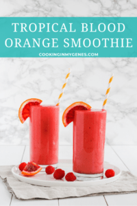 Tropical Blood Orange Smoothie